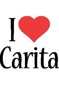 Carita i-love logo