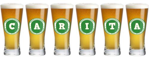Carita lager logo