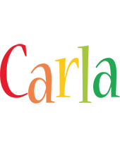 Carla birthday logo