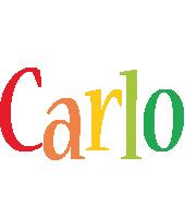 Carlo birthday logo