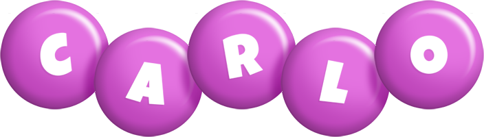 Carlo candy-purple logo