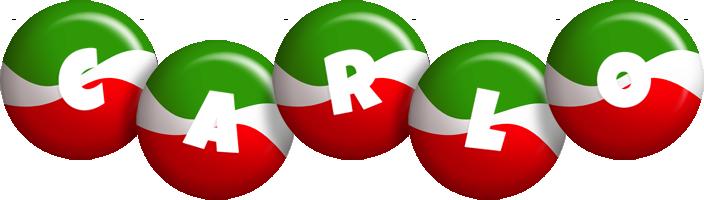 Carlo italy logo