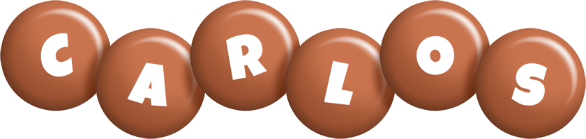 Carlos candy-brown logo