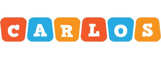 Carlos comics logo