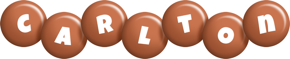 Carlton candy-brown logo