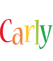 Carly birthday logo