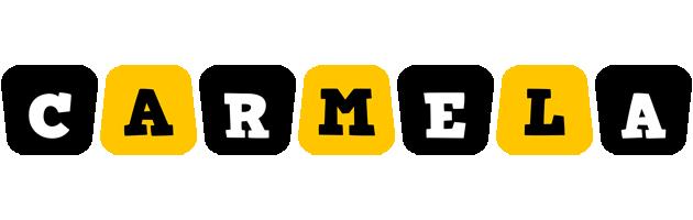 Carmela boots logo