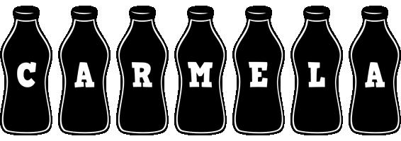 Carmela bottle logo
