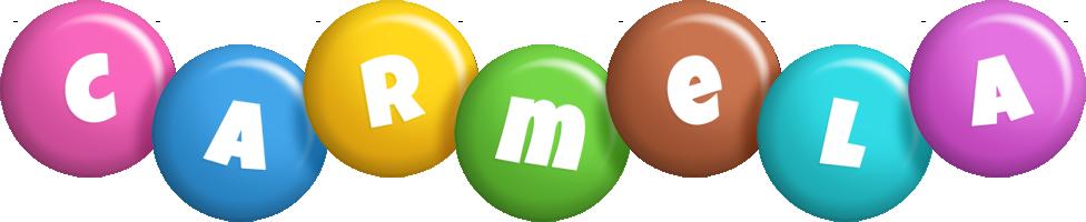Carmela candy logo
