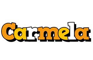 Carmela cartoon logo