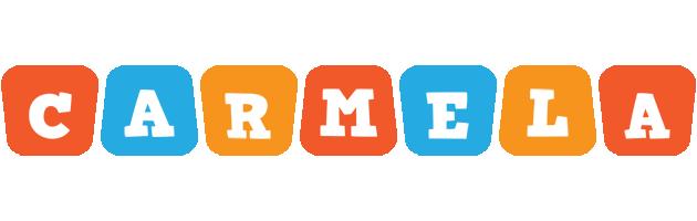 Carmela comics logo