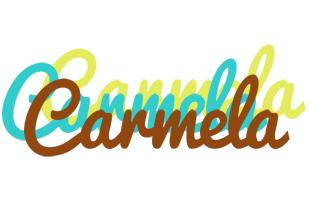 Carmela cupcake logo