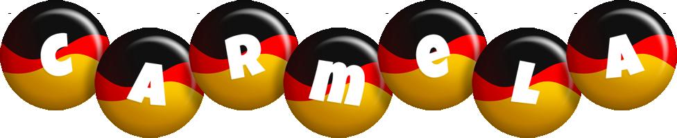 Carmela german logo