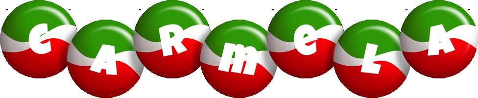 Carmela italy logo