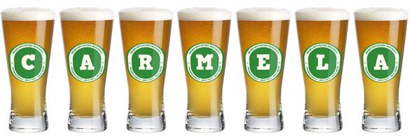 Carmela lager logo