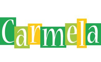 Carmela lemonade logo