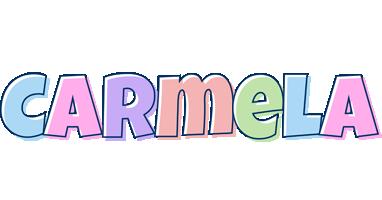 Carmela pastel logo