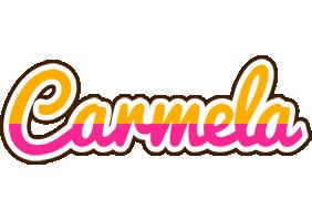 Carmela smoothie logo