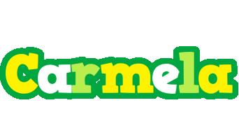 Carmela soccer logo