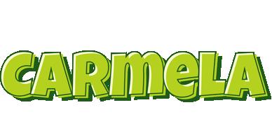Carmela summer logo