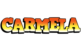 Carmela sunset logo