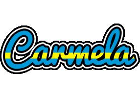 Carmela sweden logo