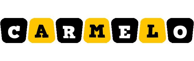 Carmelo boots logo