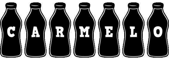 Carmelo bottle logo