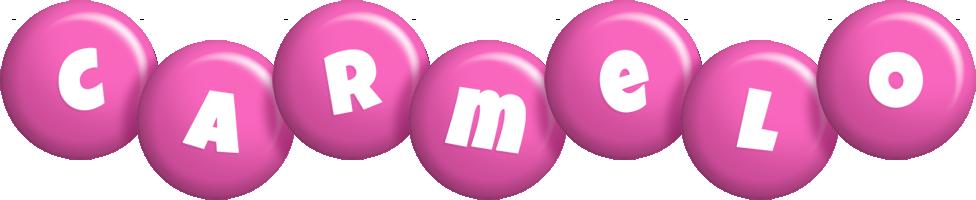 Carmelo candy-pink logo