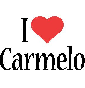 Carmelo i-love logo
