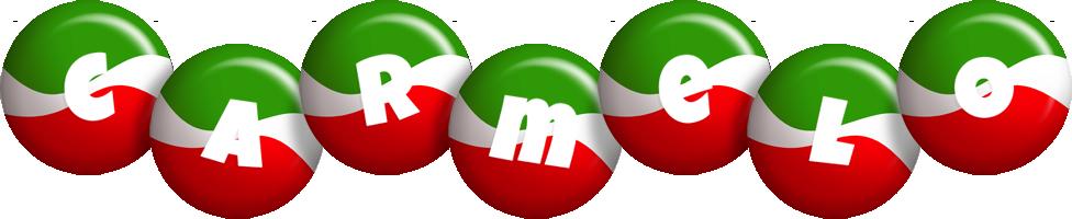 Carmelo italy logo