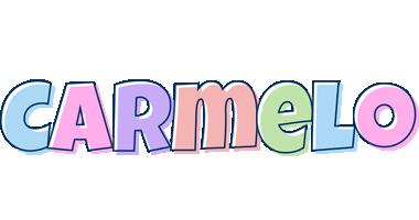 Carmelo pastel logo