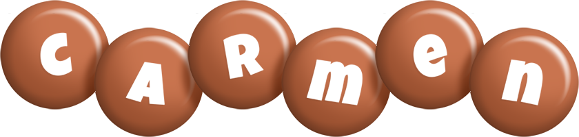 Carmen candy-brown logo