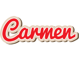Carmen chocolate logo