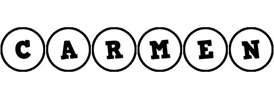 Carmen handy logo