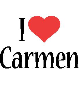 Carmen i-love logo