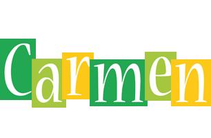 Carmen lemonade logo