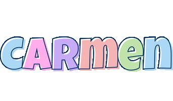 Carmen pastel logo