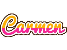 Carmen smoothie logo
