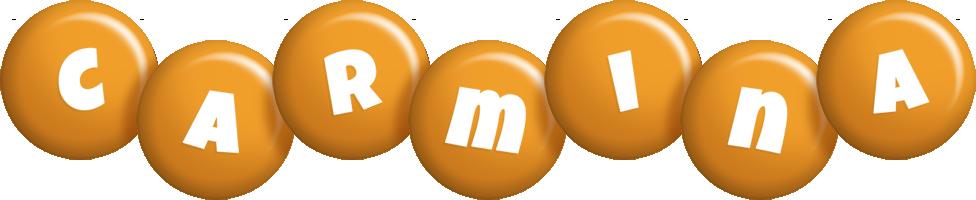 Carmina candy-orange logo