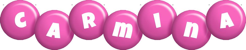 Carmina candy-pink logo