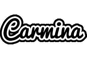 Carmina chess logo