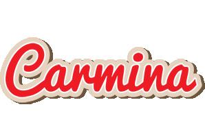 Carmina chocolate logo