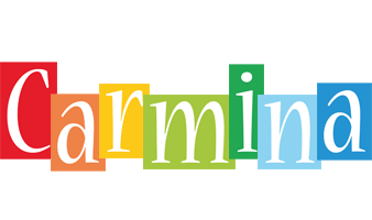 Carmina colors logo