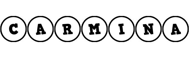 Carmina handy logo