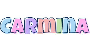 Carmina pastel logo