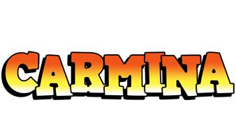 Carmina sunset logo