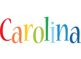 Carolina birthday logo