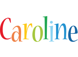 Caroline birthday logo