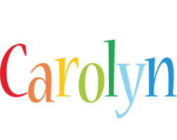 Carolyn birthday logo